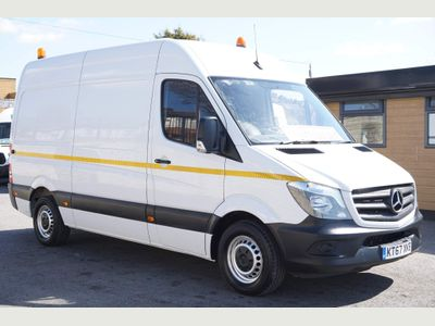 Mercedes-Benz Sprinter Panel Van 2.1 CDI 314 High Roof Panel Van 5dr (EU6, MWB)