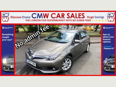 Toyota Auris Hatchback 1.8 VVT-h Icon CVT (s/s) 5dr (Safety Sense)
