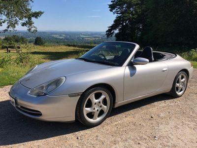 Porsche 911 Convertible 3.4 996 Carrera 2 Cabriolet 2dr