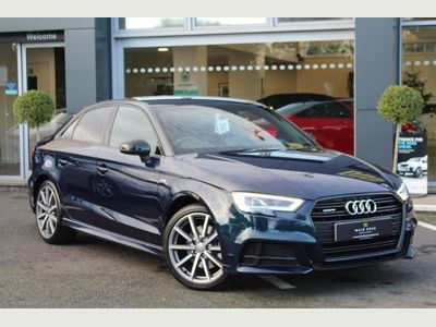 Audi A3 Saloon 2.0 TDI 40 Black Edition S Tronic quattro (s/s) 4dr