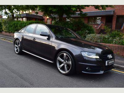 Audi A4 Saloon 2.0 TFSI Black Edition 4dr