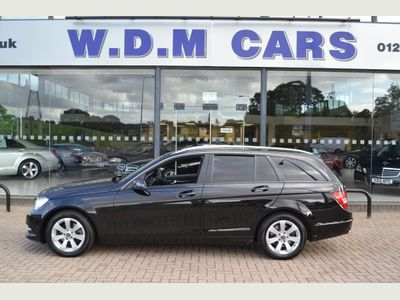 MERCEDES-BENZ C CLASS Estate 2.1 C220 CDI SE (Executive) 7G-Tronic Plus 5dr
