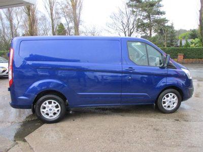 Ford Transit Custom Panel Van 2.0 TDCi 270 Limited L1 H1 5dr