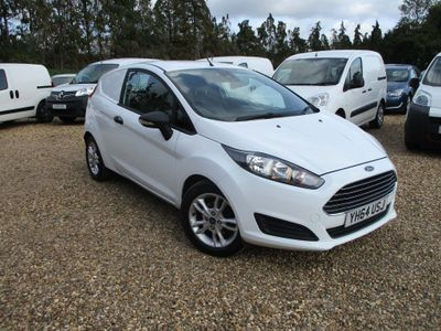 Ford Fiesta Car Derived Van 1.6 TDCI ECOnetic II Panel Van 3dr Diesel Manual (94 bhp)