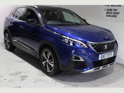 Peugeot 3008 SUV 1.6 BlueHDi GT Line (s/s) 5dr