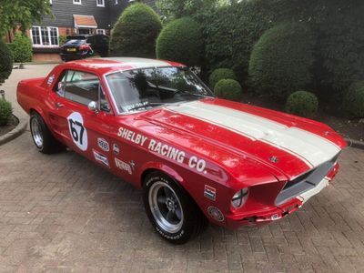 Ford Mustang Unlisted V8 coupe Shelby racing look