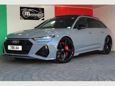 Audi RS6 Avant Estate 4.0 TFSI V8 Launch Edition Avant Tiptronic quattro (s/s) 5dr