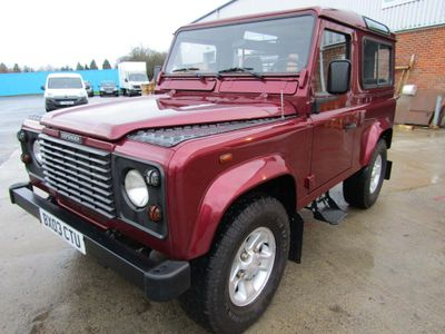 Land Rover Defender 90 Unlisted COUNTY 2.5 TD5 7 SEATER 3 DR