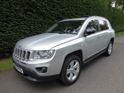 Jeep Compass SUV 2.2 CRD Sport Plus 5dr