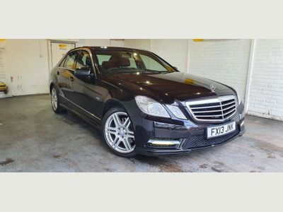 Mercedes-Benz E Class Saloon 2.1 E250 CDI BlueEFFICIENCY Sport 7G-Tronic Plus (s/s) 4dr