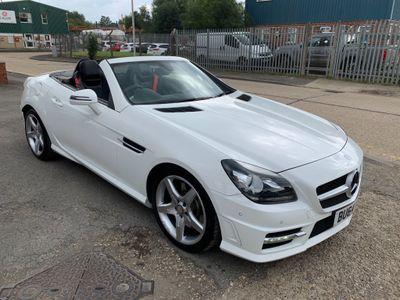 Mercedes-Benz SLK Convertible 2.1 SLK250 CDI BlueEFFICIENCY AMG Sport 7G-Tronic Plus (s/s) 2dr