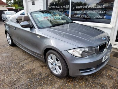 BMW 1 Series Convertible 2.0 118d ES 2dr