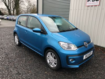Volkswagen up! Hatchback 1.0 BlueMotion Tech High up! (s/s) 5dr