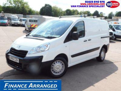 Peugeot Expert Panel Van 1.6HDI90PS L1H1 1 OWNER F/S/H