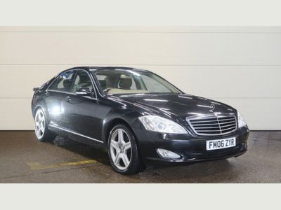 Mercedes-Benz S Class Saloon 3.0 S320 CDI 7G-Tronic 4dr
