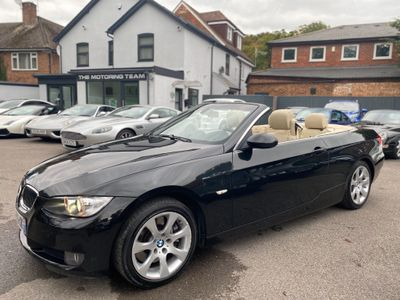 BMW 3 Series Convertible 330d 3.0 TURBO DIESEL AUTOMATIC