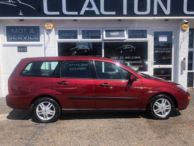 Ford Focus Estate 1.8 i 16v Zetec 5dr
