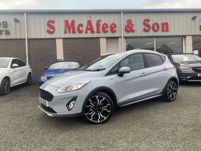 Ford Fiesta Hatchback 1.0T EcoBoost MHEV Active X Edition (s/s) 5dr