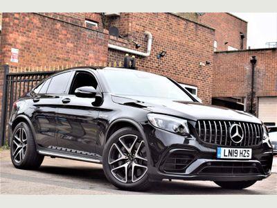 Mercedes-Benz GLC Class Coupe 4.0 GLC63 V8 BiTurbo AMG (Premium) SpdS MCT 4MATIC+ (s/s) 5dr