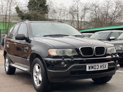 BMW X5 SUV 3.0i Auto 4WD 5dr
