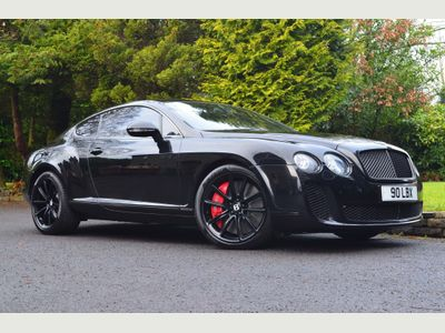 Bentley Continental Coupe 6.0 GT Supersports 2dr