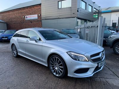 Mercedes-Benz CLS Estate 2.1 CLS220 CDi BlueTEC AMG Line Shooting Brake G-Tronic+ (s/s) 5dr
