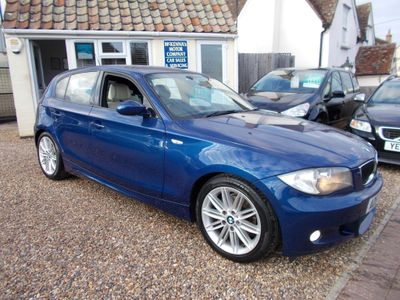 BMW 1 Series Hatchback 2.0 118i M Sport 5dr