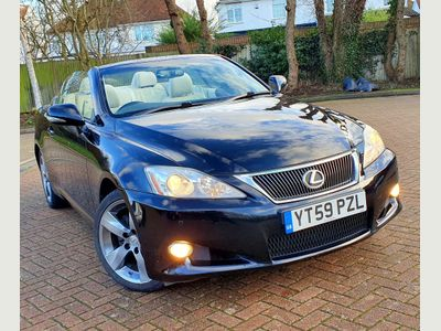 Lexus IS 250 Convertible 2.5 SE-I 2dr