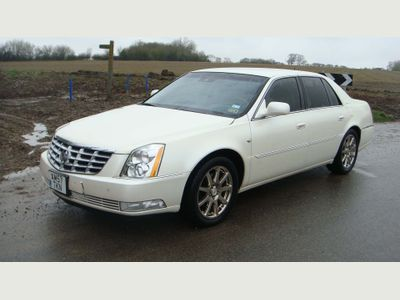 Cadillac CTS Saloon DTS LEFT HAND DRIVE AUTOMATIC PETROL 4DR
