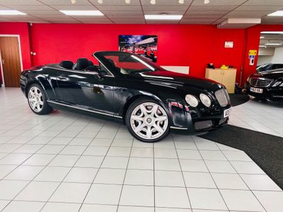 Bentley Continental Convertible 6.0 GTC 2dr