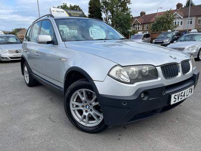 BMW X3 SUV 2.5i SE 4WD 5dr