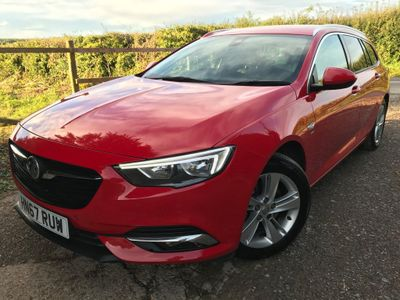 Vauxhall Insignia Estate 2.0 Turbo D BlueInjection SRi Nav Sports Tourer (s/s) 5dr