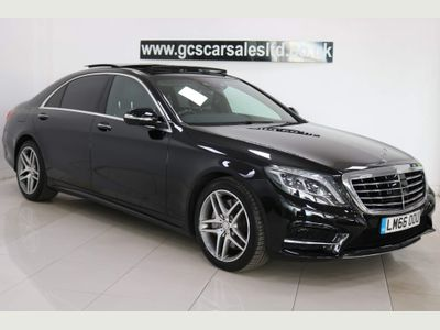 Mercedes-Benz S Class Saloon 3.0 S350L d AMG Line (Executive Premium) 9G-Tronic Plus (s/s) 4dr