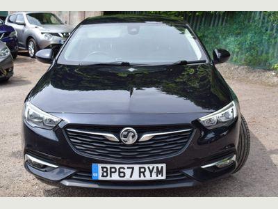 Vauxhall Insignia Hatchback 1.5i Turbo SRi Nav Grand Sport (s/s) 5dr
