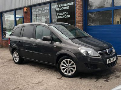 Vauxhall Zafira MPV 1.7 CDTi ecoFLEX Design 5dr (SNav)