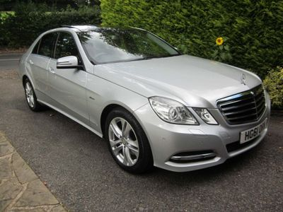 Mercedes-Benz E Class Saloon 3.0 E350 CDI BlueEFFICIENCY Avantgarde G-Tronic 4dr