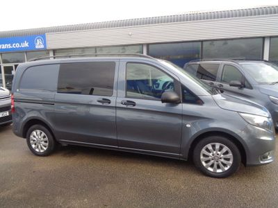 Mercedes-Benz Vito Other 2.1 114 CDi BlueTEC Crew Van G-Tronic+ RWD L1 EU6 (s/s) 5dr