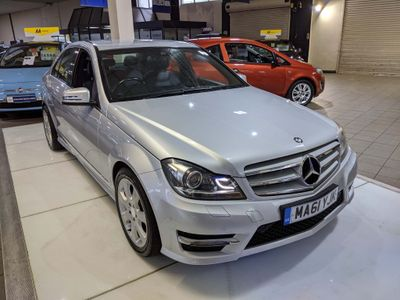 Mercedes-Benz C Class Saloon 2.1 C220 CDI BlueEFFICIENCY Sport Edition 125 4dr