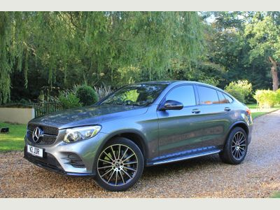 Mercedes-Benz GLC Class Coupe 2.1 GLC220d AMG Line (Premium Plus) G-Tronic+ 4MATIC (s/s) 5dr