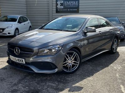 MERCEDES-BENZ CLA CLASS Coupe 1.6 CLA180 AMG Line Edition 7G-DCT (s/s) 4dr