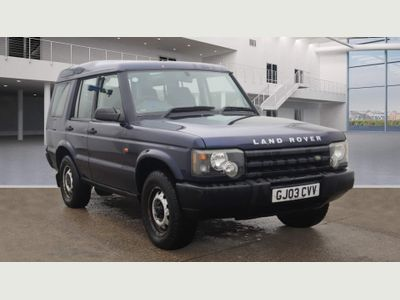 Land Rover Discovery SUV 2.5 TD5 E 5dr (7 Seats)