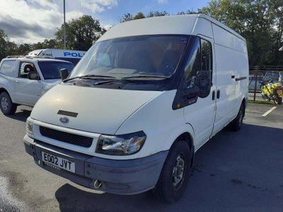 Ford Transit Panel Van 2.4 TD 350 High Roof LWB 3dr