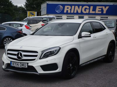 Mercedes-Benz GLA Class SUV 2.0 GLA250 AMG Line 7G-DCT 4MATIC 5dr