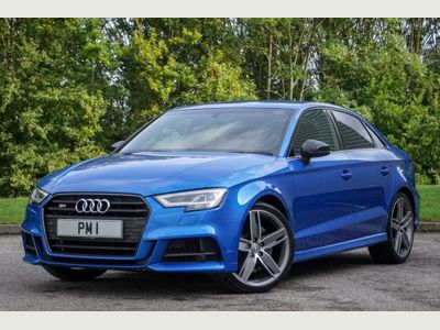 Audi S3 Saloon 2.0 TFSI Black Edition S Tronic quattro (s/s) 4dr