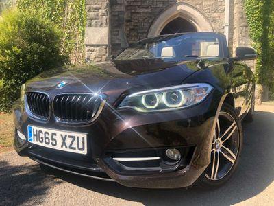 BMW 2 Series Convertible 2.0 220i Sport (s/s) 2dr