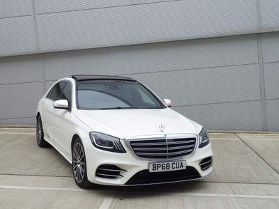 Mercedes-Benz S Class Saloon 3.0 S450L EQ Boost AMG Line (Executive, Premium) G-Tronic+ (s/s) 4dr