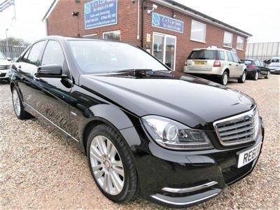 Mercedes-Benz C Class Saloon 2.1 C250 CDI BlueEFFICIENCY Elegance Edition 125 7G-Tronic 4dr