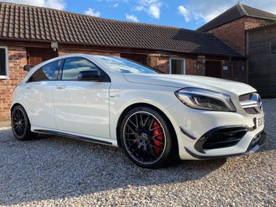 Mercedes-Benz A Class Hatchback 2.0 A45 AMG SpdS DCT 4MATIC (s/s) 5dr