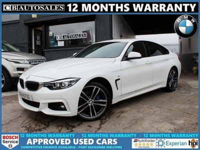 BMW 4 Series Gran Coupe Saloon 2.0 420i M Sport Gran Coupe xDrive (s/s) 5dr