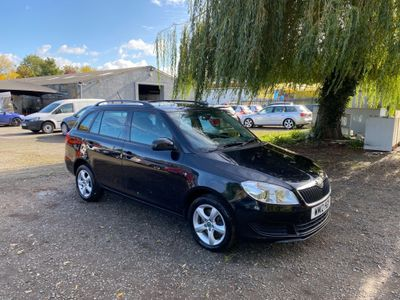 SKODA Fabia Estate 1.6 TDI CR DPF SE 5dr